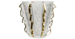 Crystal Lalique Swing Vase