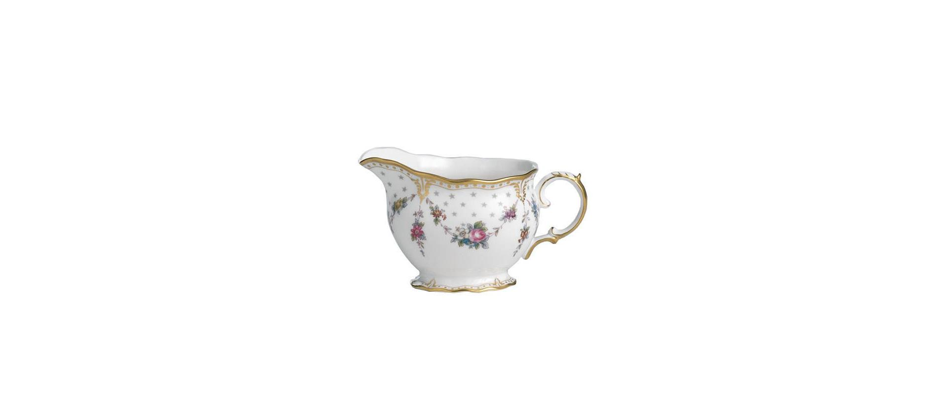 Royal Crown Derby Antoinette milk jug 390 ml big