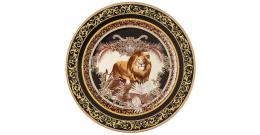Wall plate Rosenthal Versace Le Regne Animal William