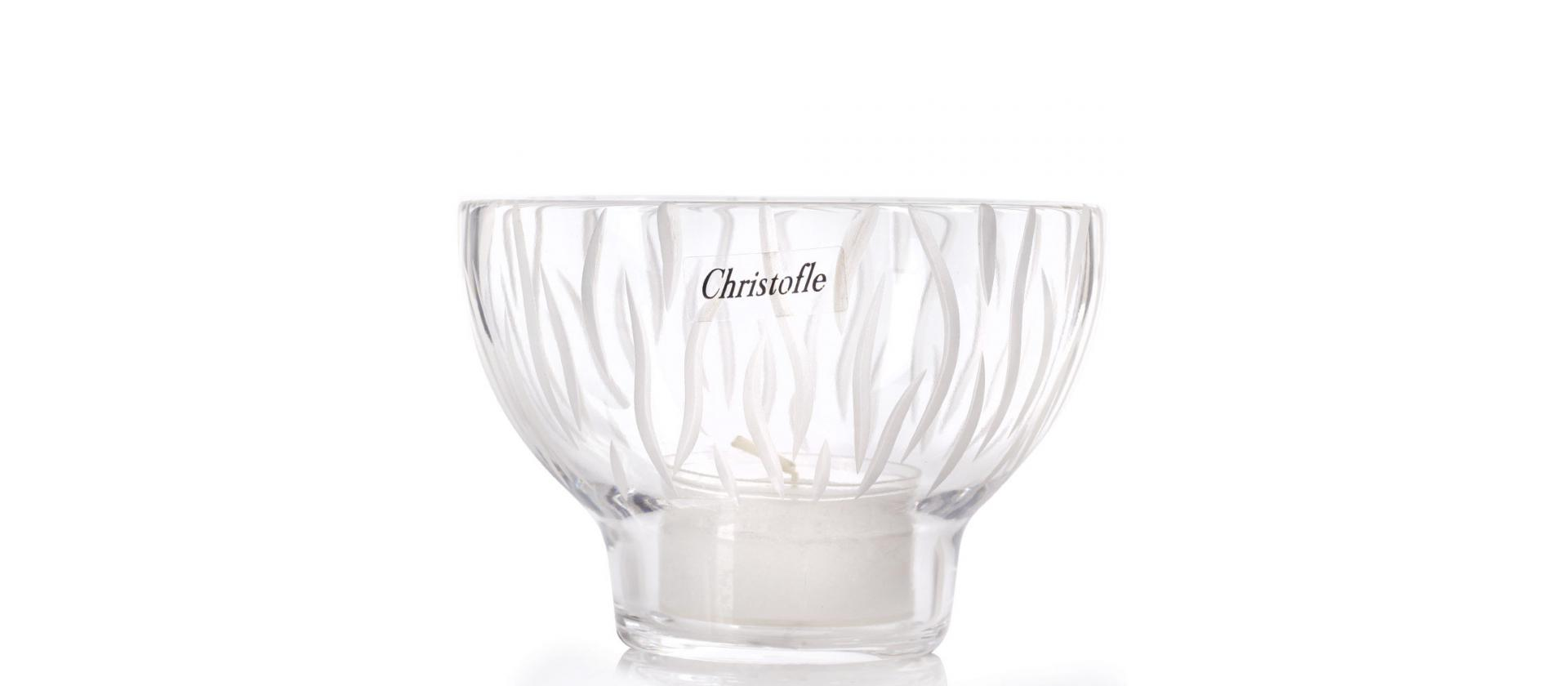 Candlestick Christofle Savane big
