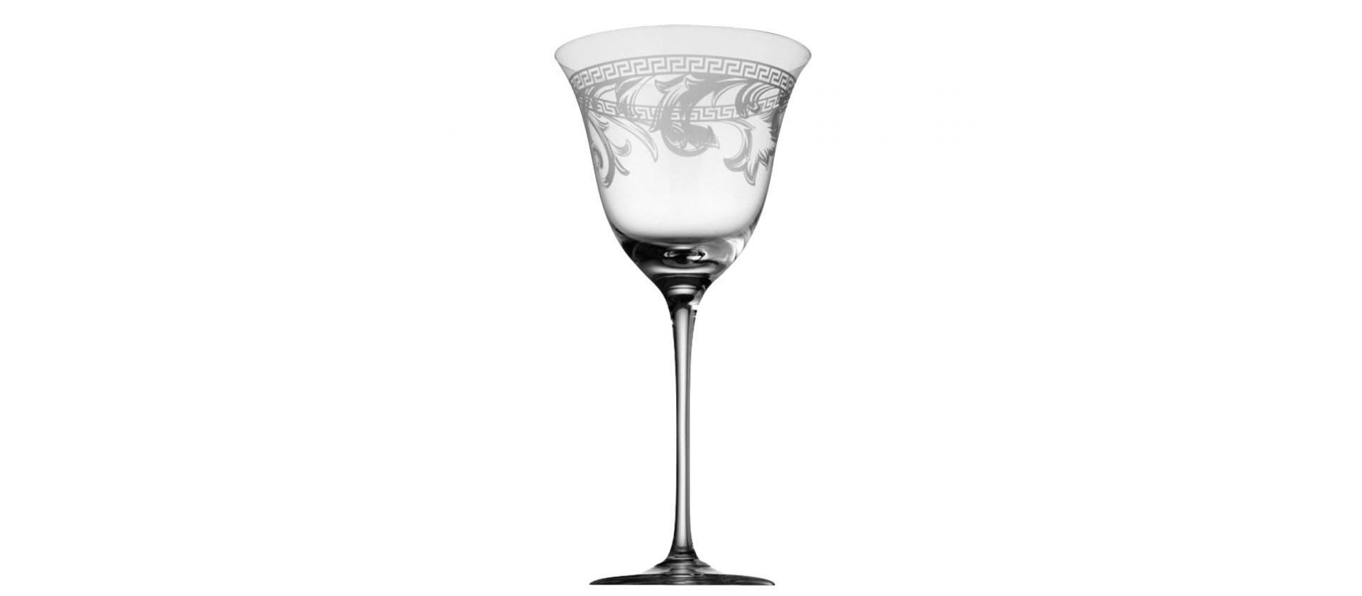 Rosenthal Versace Arabesque Red Wine Glass big