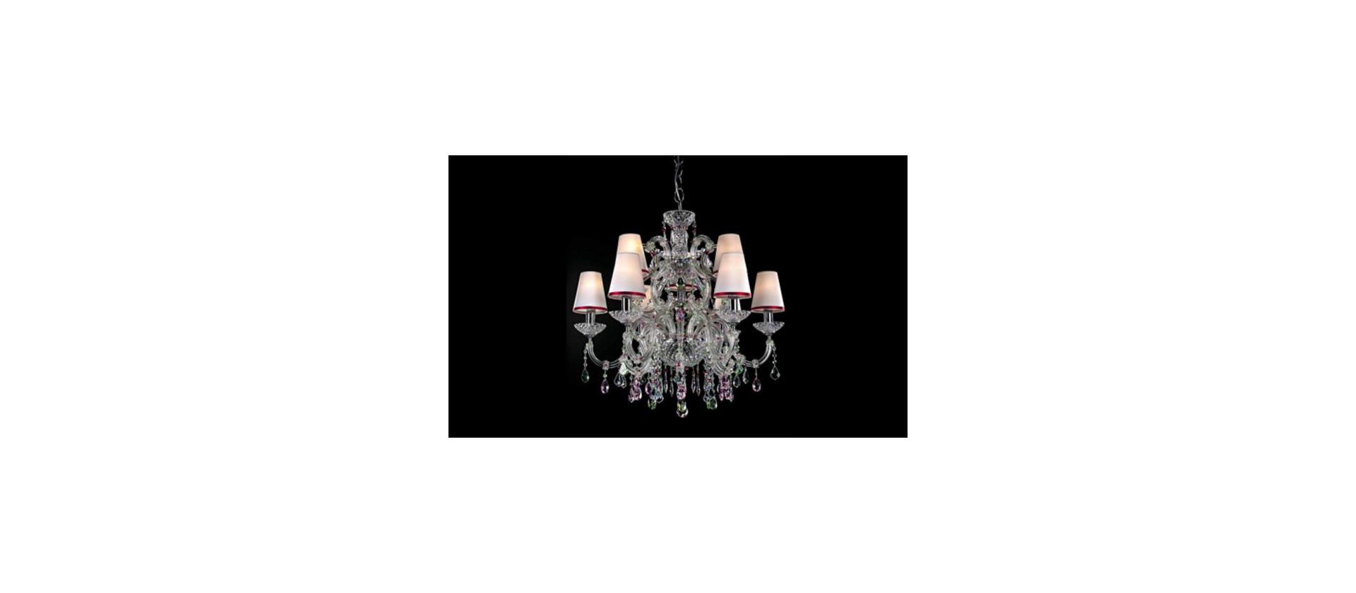 Chandelier Beby Italy Rose big